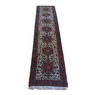 Persian Heriz Runner Rug - 2′5″ × 10′