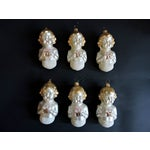 Image of West German Vintage Glass Christmas Ornaments