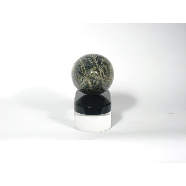 Image of Mid-Century Connemara Marble Sculpture on Base
