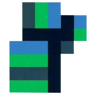 1997 Anton Stankowski Abstract Limited Edition Serigraph