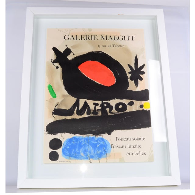 Joan Miró Lithograph Poster By Galerie Maeght - Image 4 of 11