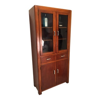 Prohibition Era Craftsman Style Bourbon Cabinet