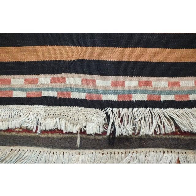 Vintage Turkish Kilim Rug - 5′11″ × 9′2″ - Image 8 of 10