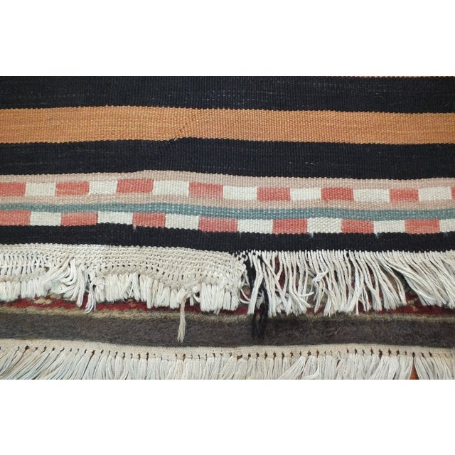 Image of Vintage Turkish Kilim Rug - 5′11″ × 9′2″