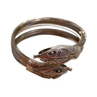 Snake Wire Bypass Bracelet