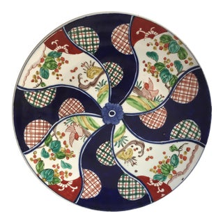 """Antique 13"""" Hand Painted Imari Charger"""