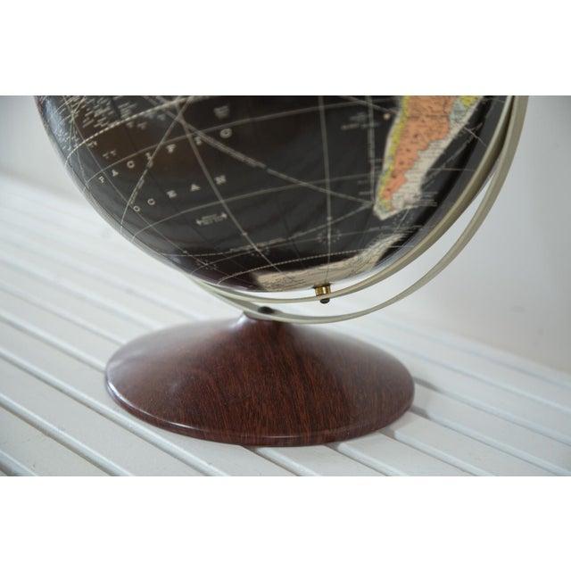 Image of 1960s Rand McNally Black Globe