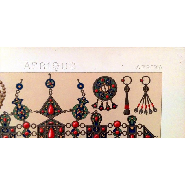 1888 Ornaments of Ancient Africa Lithograph - Image 2 of 8