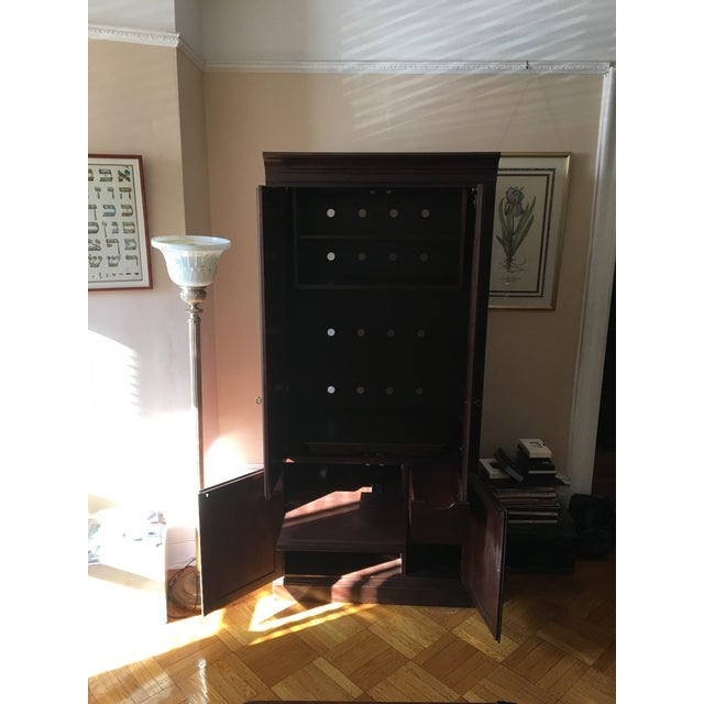 Ethan Allen Georgian Court Cherry Armoire - Image 4 of 5