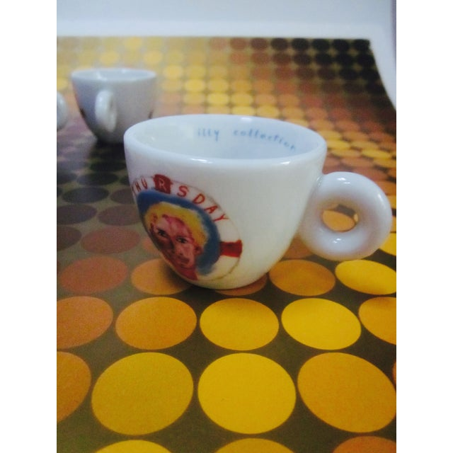 Image of illy Espresso Cups by Julian Schnabel, 2005 - S/5