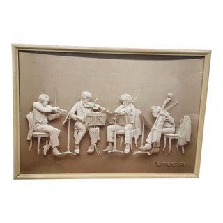 "1976 Reinhard Sapia ""Rehearsal"" Composition"