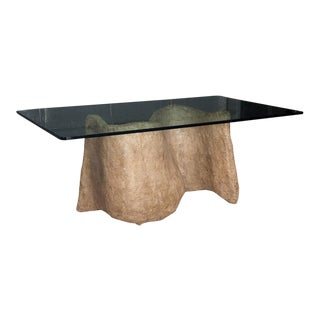 Silas Seandel Faux Cast Stone Miro Dining Table