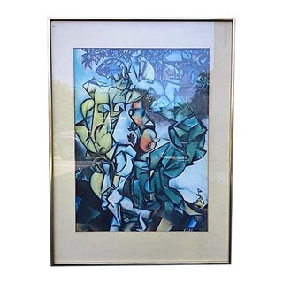 """Temptation"" Framed Print by Marc Chagall"
