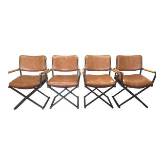 Cleo Baldon Director Armchairs- Set of 4