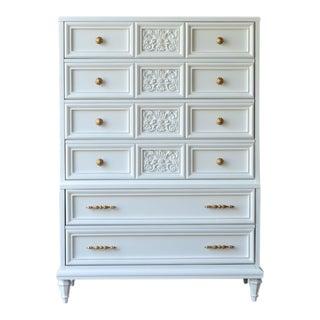 White Glossy Dresser