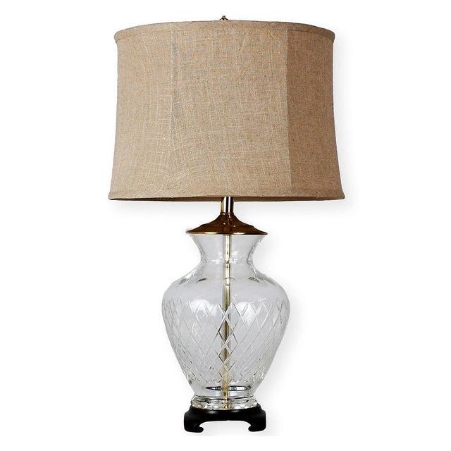 Image of Crystal Ginger Jar Table Lamp