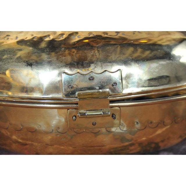 Antique 19th Century Brass Foot Warmer - Image 9 of 11