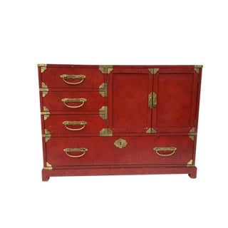 Vintage Century Furniture Asian Tansu Style Chest