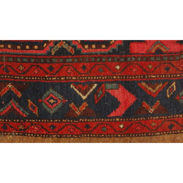 """Antique Persian Camel Rug - 4'4"""" x 6'4"""" - Image 3 of 4"""