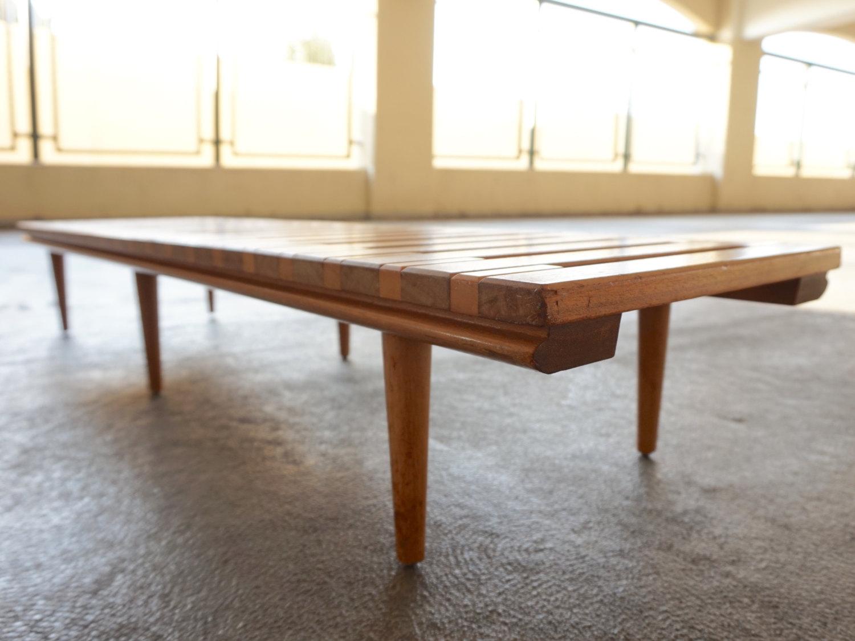John Keal For Brown Saltman Low Bench Table   Image 5 Of 6