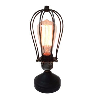 Vintage Mid-Century Industrial Table Lamps