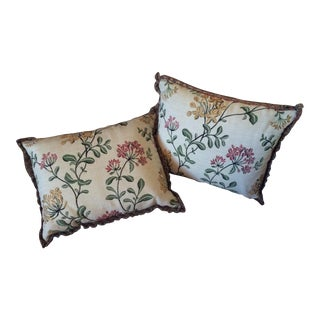 Lee Jofa Reversible Pillows- A Pair