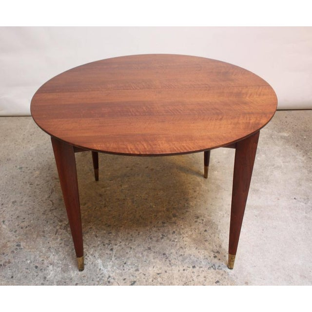 Gio Ponti Italian Walnut Dining Table for Singer & Sons - Image 11 of 11