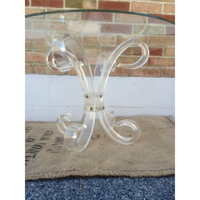1960's Lucite Cocktail Table - Image 3 of 7