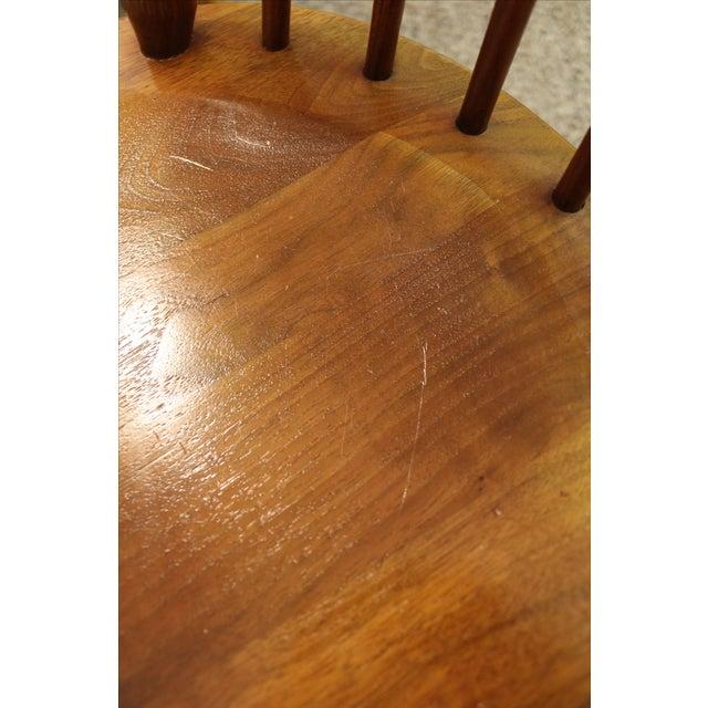 Kipp Stewart Paddle Back Chairs - Set of 6 - Image 7 of 11