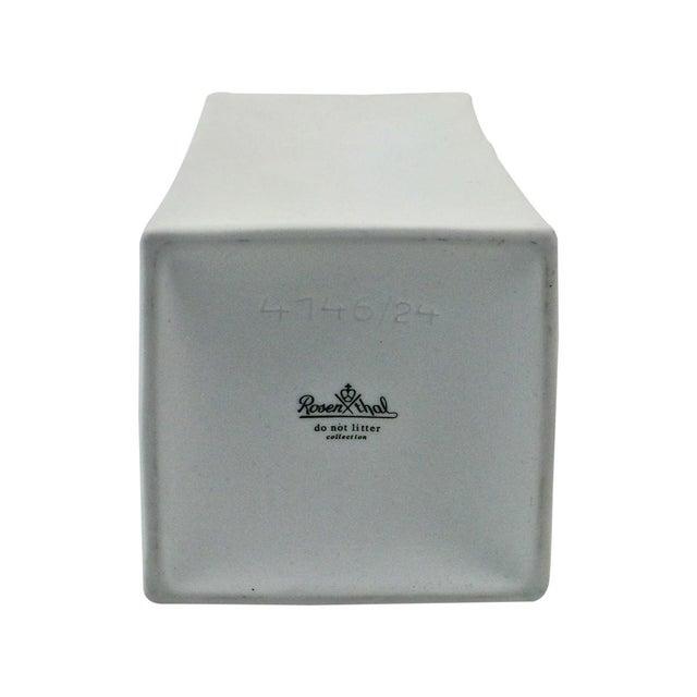 Rosenthal Studio Line Porcelain Milk Carton Vase - Image 6 of 6