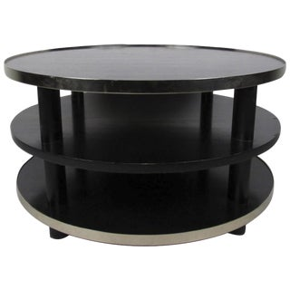 Mid-Century Modern Three-Tier Occasional Table
