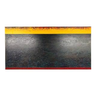 "Dan Namingha ""Panorama 1"" Abstract Painting"