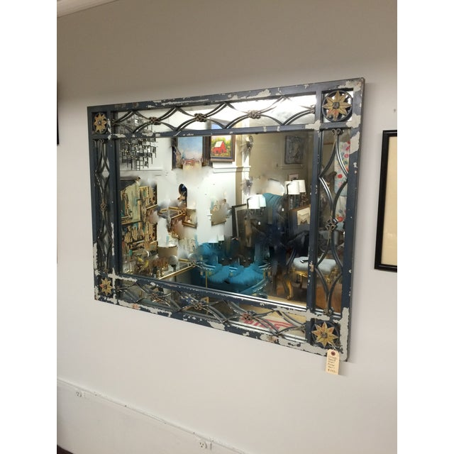 Large Mid-Century Mirror - Image 5 of 5