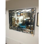 Image of Large Mid-Century Mirror