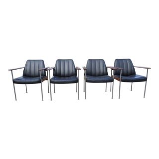 Sven Ivar Dysthe Chairs for Dokka Møbler - Set of 4