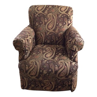 Highland House Paisley Club Chair