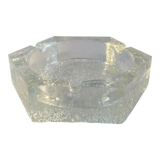 Hexagonal Crystal Ashtray