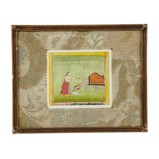 Framed Indian Miniature