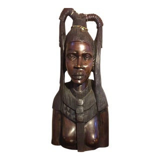 Outstanding Sculpture of African Royalty