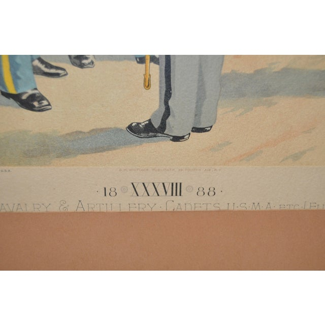 U.S. Military Academy Color Lithograph C.1888 - Image 7 of 10