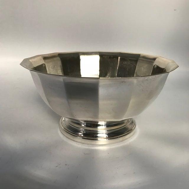 Vintage Gorham Fluted Silve Plate Bowl - Image 3 of 8