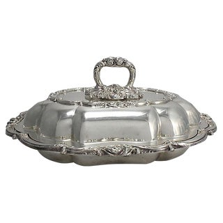 Viners English Silver-Plate Serving Dish