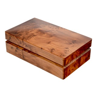 Birds Eye Burlwood Box