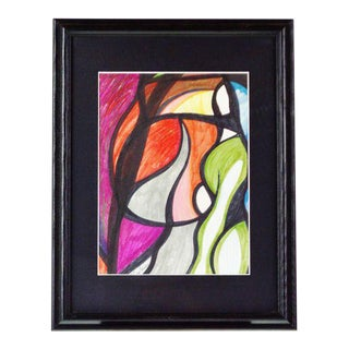 Abstract Pat Gallagher Signed Original Art