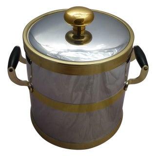 Mid-Century Chrome Ice Bucket