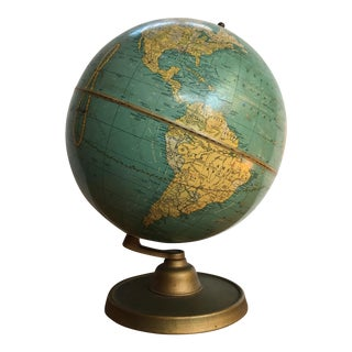 Ca. 1939 Vintage Cram's World Globe