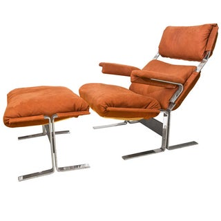 Kipp Stewart Lounge Chair and Ottoman