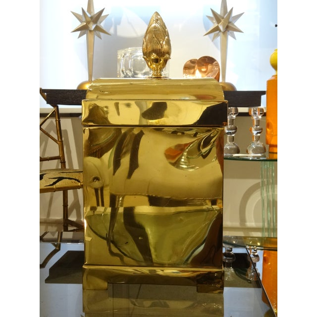 Lidded Brass Box by Maitland Smith - Image 3 of 5