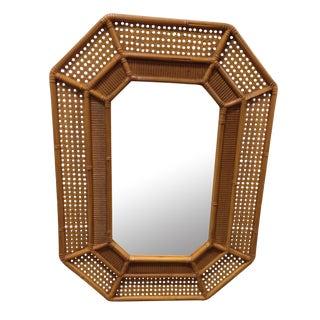 Burwood Rattan Style Mirror