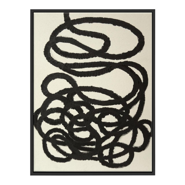 """Abstract Squiggle No. 2"" Fine Art Giclée Print - Image 1 of 3"